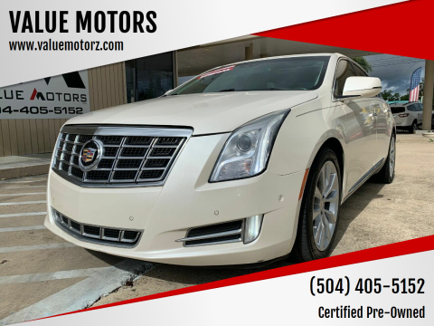 2015 Cadillac XTS for sale at VALUE MOTORS in Kenner LA