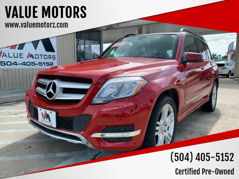 2013 Mercedes-Benz GLK for sale at VALUE MOTORS in Kenner LA