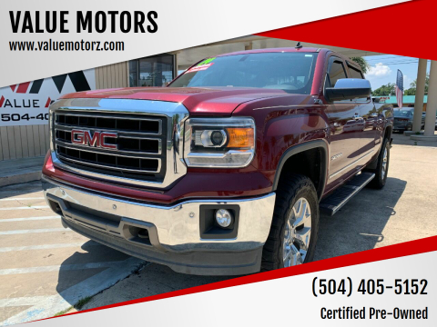 2014 GMC Sierra 1500 for sale at VALUE MOTORS in Kenner LA