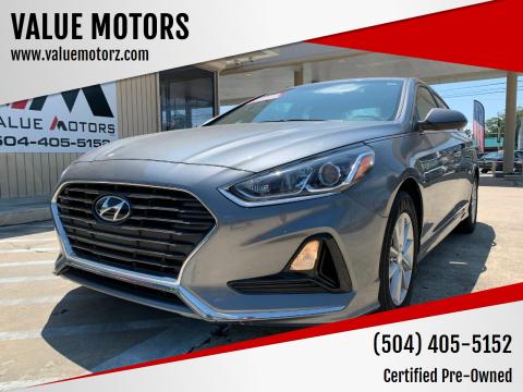 2019 Hyundai Sonata for sale at VALUE MOTORS in Kenner LA