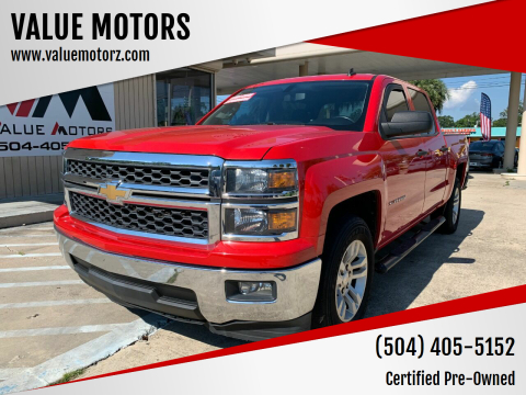 2014 Chevrolet Silverado 1500 for sale at VALUE MOTORS in Kenner LA