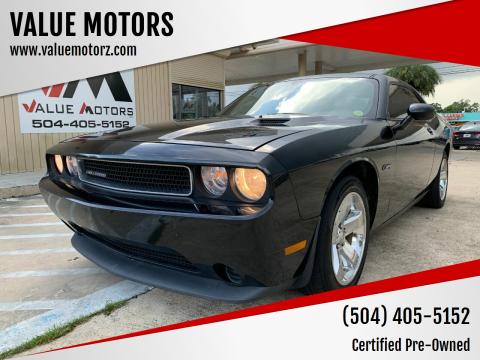 2014 Dodge Challenger for sale at VALUE MOTORS in Kenner LA
