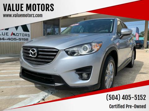 2016 Mazda CX-5 for sale at VALUE MOTORS in Kenner LA