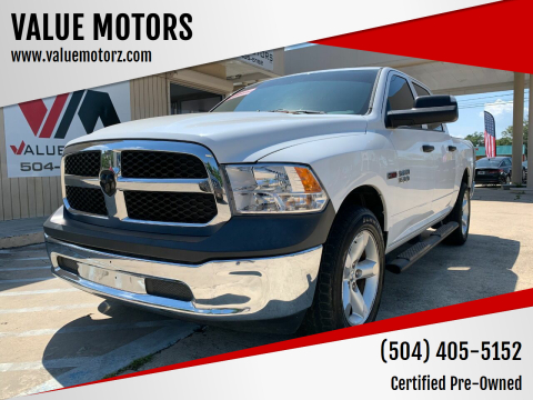 2015 RAM Ram Pickup 1500 for sale at VALUE MOTORS in Kenner LA