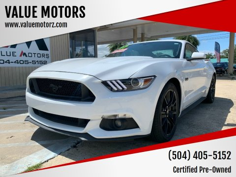 2017 Ford Mustang for sale at VALUE MOTORS in Kenner LA