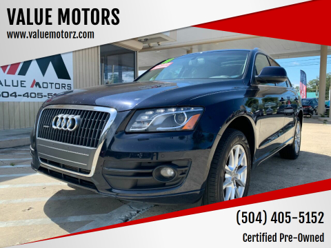 2011 Audi Q5 for sale at VALUE MOTORS in Kenner LA
