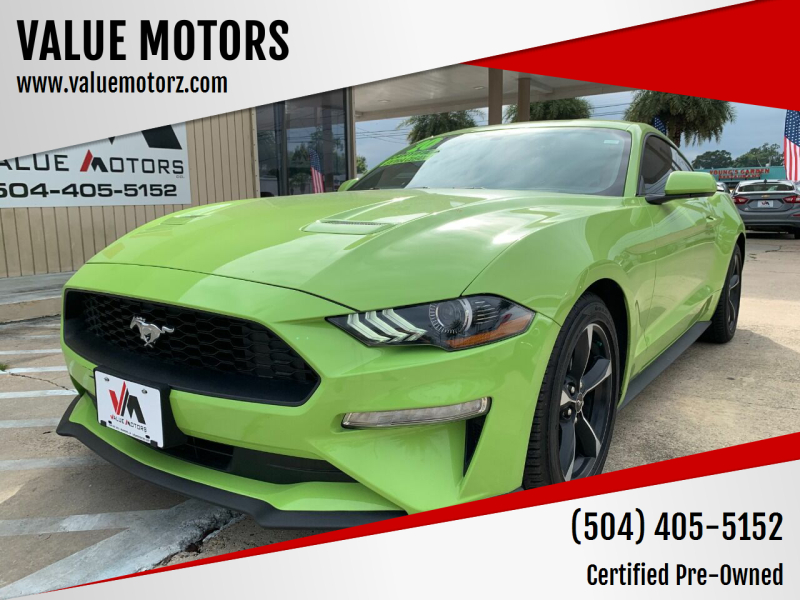 2020 Ford Mustang for sale at VALUE MOTORS in Kenner LA