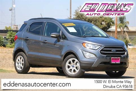 2019 Ford EcoSport for sale in Dinuba, CA