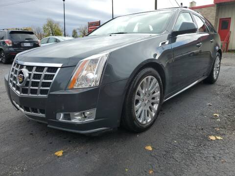 2014 Cadillac CTS for sale at Drive Motor Sales in Ionia MI
