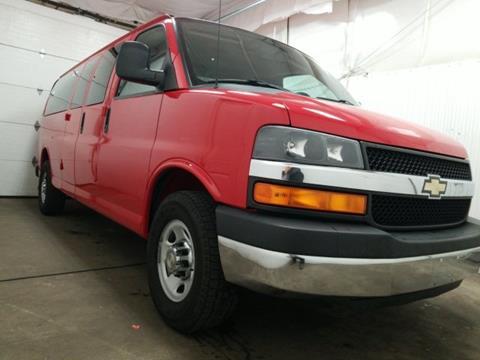 2014 Chevrolet Express Passenger for sale in Van Wert, OH