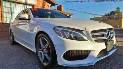 2015 Mercedes-Benz C-Class for sale at Auto Click in Tucson AZ