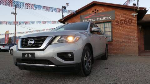 2017 Nissan Pathfinder for sale at Auto Click in Tucson AZ