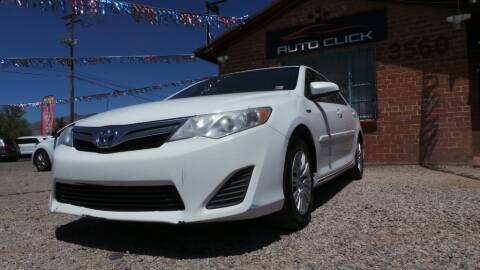 2014 Toyota Camry Hybrid for sale at Auto Click in Tucson AZ