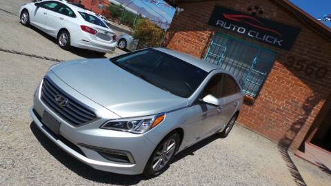 2015 Hyundai Sonata for sale at Auto Click in Tucson AZ