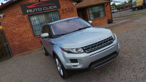 2013 Land Rover Range Rover Evoque for sale at Auto Click in Tucson AZ