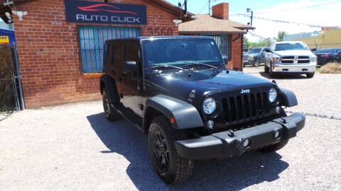2014 Jeep Wrangler Unlimited for sale at Auto Click in Tucson AZ