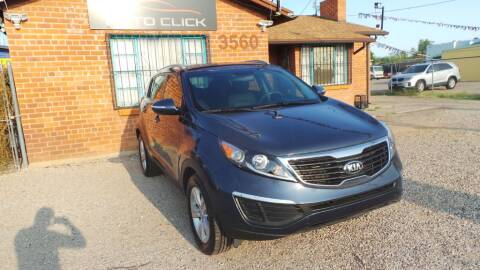 2013 Kia Sportage for sale at Auto Click in Tucson AZ