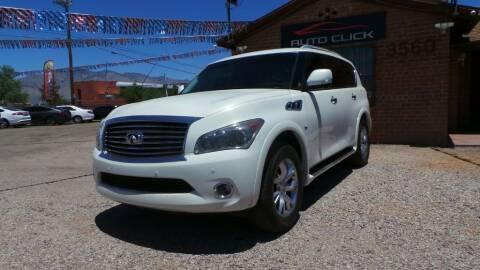 2014 Infiniti QX80 for sale at Auto Click in Tucson AZ
