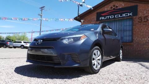 2016 Toyota Corolla for sale at Auto Click in Tucson AZ