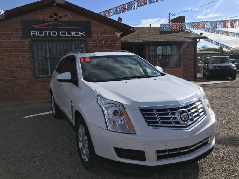 2013 Cadillac SRX for sale at Auto Click in Tucson AZ