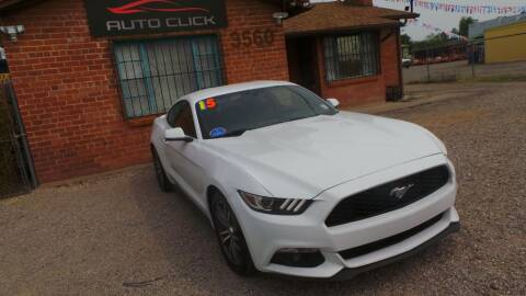 2015 Ford Mustang for sale at Auto Click in Tucson AZ