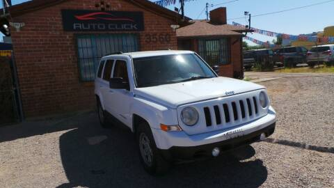 2012 Jeep Patriot for sale at Auto Click in Tucson AZ