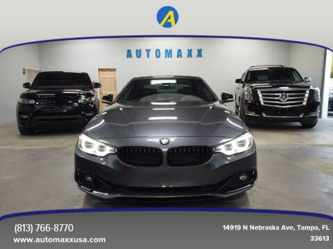 2015 BMW 4 Series for sale at Automaxx in Tampa FL