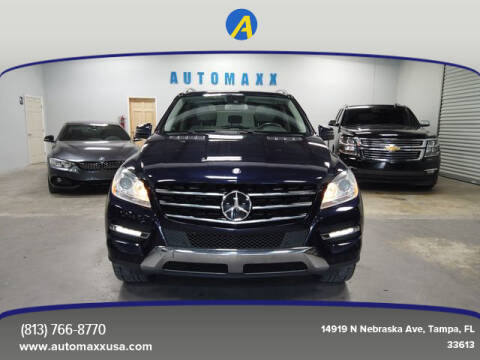 2012 Mercedes-Benz M-Class for sale at Automaxx in Tampa FL