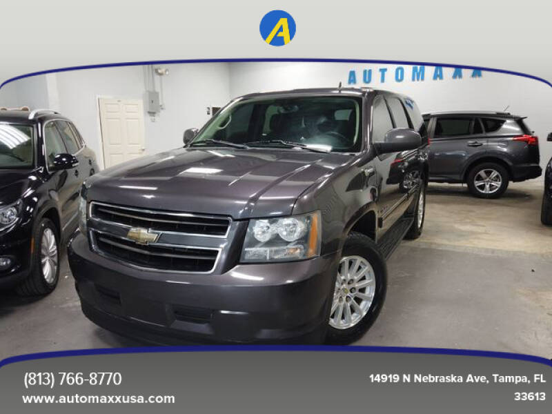 2011 Chevrolet Tahoe Hybrid for sale at Automaxx in Tampa FL