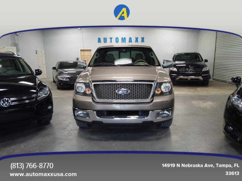 2005 Ford F-150 for sale at Automaxx in Tampa FL
