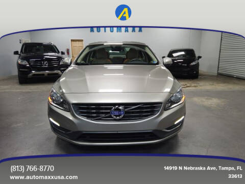 2014 Volvo S60 for sale at Automaxx in Tampa FL