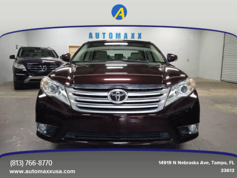 2012 Toyota Avalon for sale at Automaxx in Tampa FL
