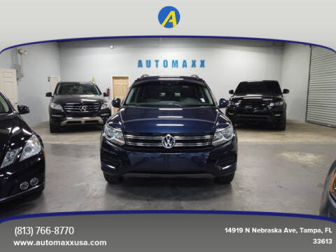 2016 Volkswagen Tiguan for sale at Automaxx in Tampa FL