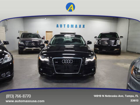 2009 Audi A4 for sale at Automaxx in Tampa FL