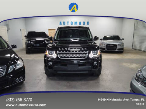 2016 Land Rover LR4 for sale at Automaxx in Tampa FL