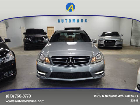 2014 Mercedes-Benz C-Class for sale at Automaxx in Tampa FL