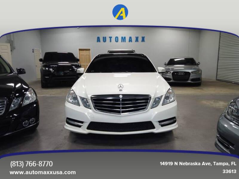 2012 Mercedes-Benz E-Class for sale at Automaxx in Tampa FL