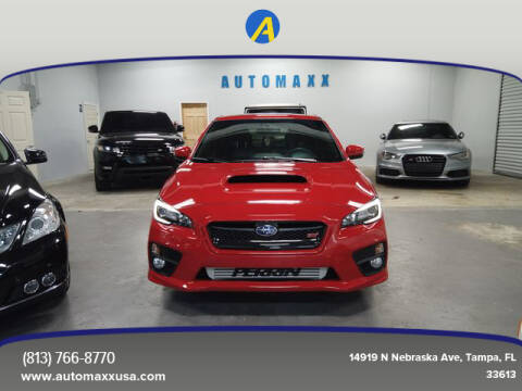 2015 Subaru WRX for sale at Automaxx in Tampa FL
