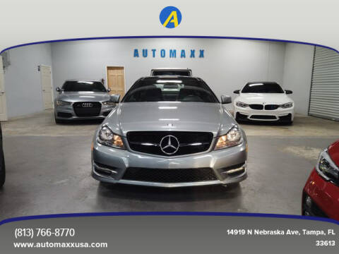 2013 Mercedes-Benz C-Class for sale at Automaxx in Tampa FL