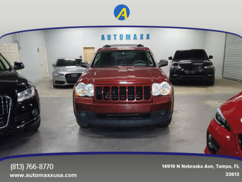 2009 Jeep Grand Cherokee for sale at Automaxx in Tampa FL