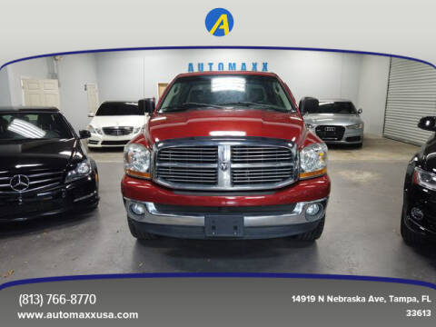 2006 Dodge Ram Pickup 1500 for sale at Automaxx in Tampa FL