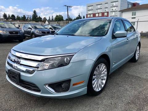 Ford Fusion Hybrid For Sale >> Ford Fusion Hybrid For Sale In Seattle Wa Auto Zen