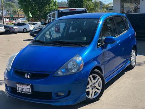 San Diego Honda >> 2007 Honda Fit For Sale In San Diego Ca