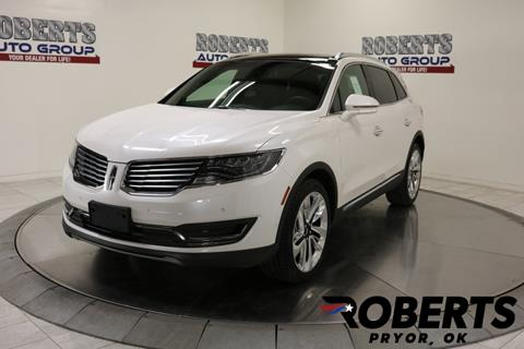 2018 Lincoln MKX for sale in Pryor, OK