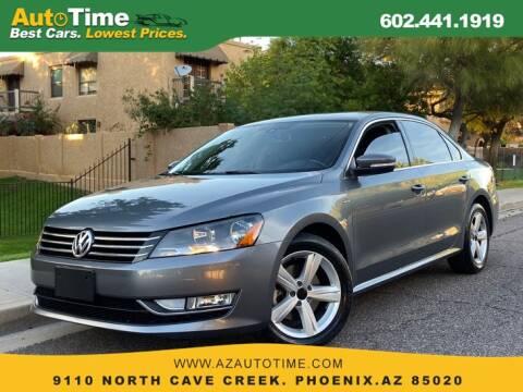 2015 Volkswagen Passat for sale in Phoenix, AZ