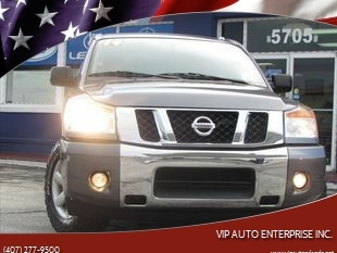 2014 Nissan Titan SV for sale at VIP AUTO ENTERPRISE INC. in Orlando FL