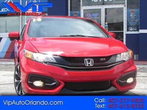 2014 Honda Civic for sale at VIP AUTO ENTERPRISE INC. in Orlando FL