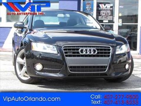 2011 Audi A5 for sale at VIP AUTO ENTERPRISE INC. in Orlando FL