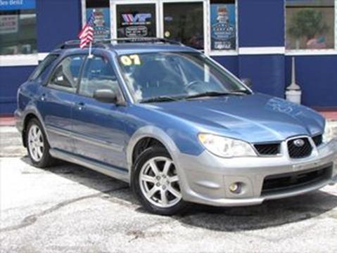 2007 Subaru Wrx Sti For Sale >> 2007 Subaru Impreza For Sale In Orlando Fl