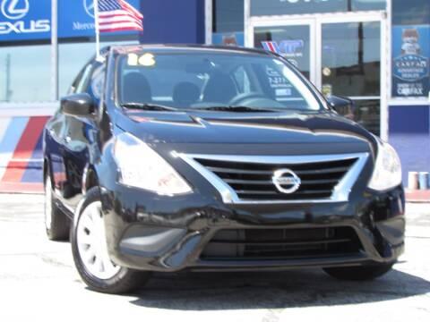 2016 Nissan Versa 1.6 SV for sale at VIP AUTO ENTERPRISE INC. in Orlando FL